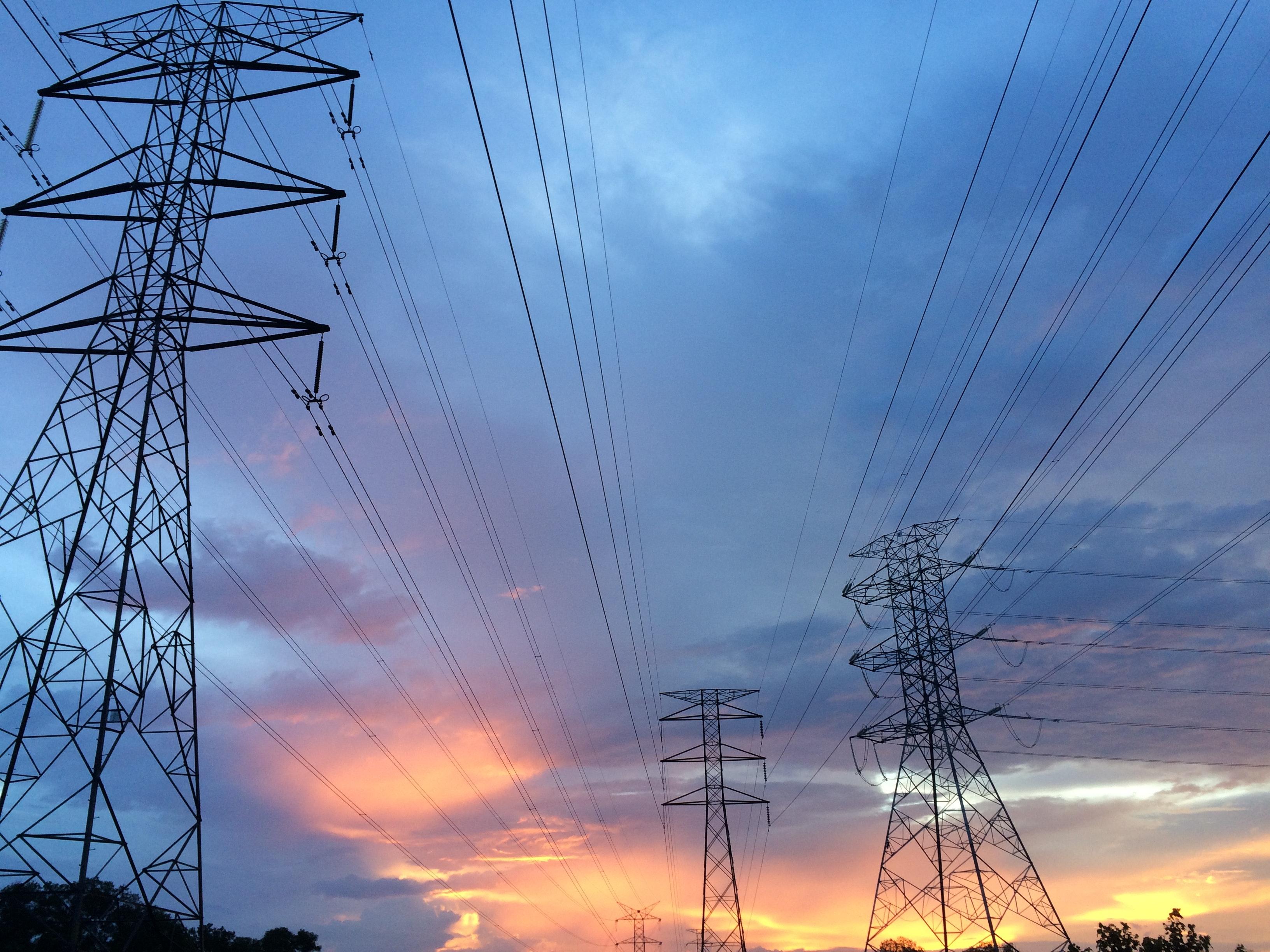 elektrické stožiare